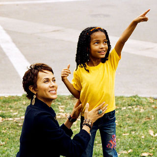 Nicole Ari Parker and Yara Shahidi (Olivia) in Paramount Pictures' Imagine That (2009). Photo credit by Bruce McBroom.