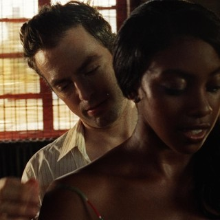 Thomas Sadoski stars as Julian and Condola Rashad stars as Julie in Roadside Attractions' 30 Beats (2012)
