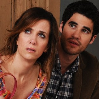 Kristen Wiig and Darren Criss stars as Lee in Lionsgate Films' Girl Most Likely (2013)