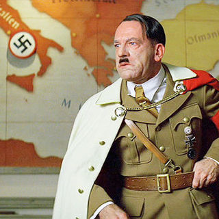 Martin Wuttke stars as Adolf Hitler in The Weinstein Company's Inglourious Basterds (2009)