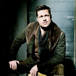 Inglourious Basterds - Brad Pitt stars as Lieutenant Aldo Raine in The Weinstein Company's Inglourious Basterds (2009)