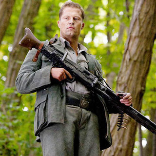 Til Schweiger stars as Sgt. Hugo Stiglitz in The Weinstein Company's Inglourious Basterds (2009)