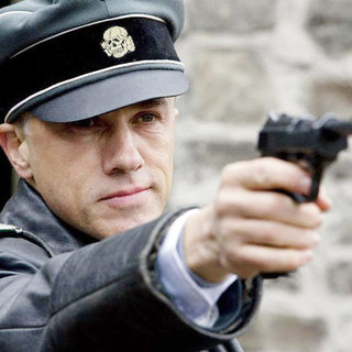 Christoph Waltz stars as Col. Hans Landa in The Weinstein Company's Inglourious Basterds (2009)