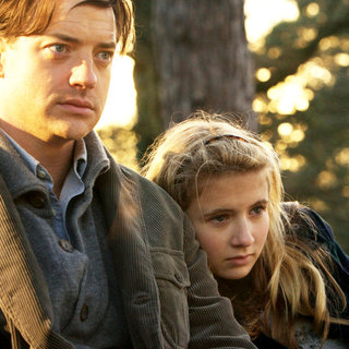 Inkheart - Brendan Fraser stars as Mo 'Silvertongue' Folchart and Eliza Bennett stars as Meggie Folchart in New Line Cinema's Inkheart (2009)
