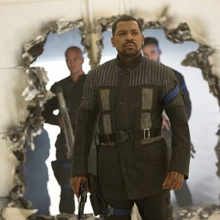 Mekhi Phifer stars as Max in Summit Entertainment's The Divergent Series: Insurgent (2015)