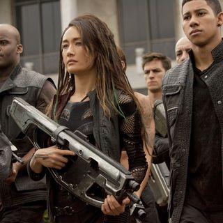 Maggie Q stars as Tori and Keiynan Lonsdale stars as Uriah in Summit Entertainment's The Divergent Series: Insurgent (2015) - insurgent-picture01
