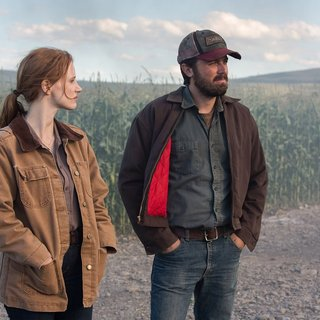 Jessica Chastain stars as Murph and Casey Affleck stars as Tom in Paramount Pictures' Interstellar (2014)