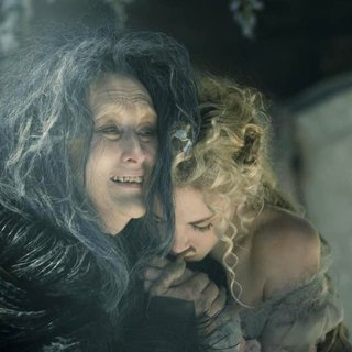 Meryl Streep stars as The Witch and Mackenzie Mauzy stars as Rapunzel in Walt Disney Pictures' Into the Woods (2014) - into-the-woods-picture08