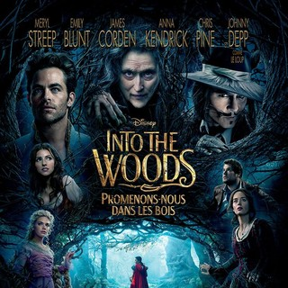 Poster of Walt Disney Pictures' Into the Woods (2014) - into-the-woods-poster02