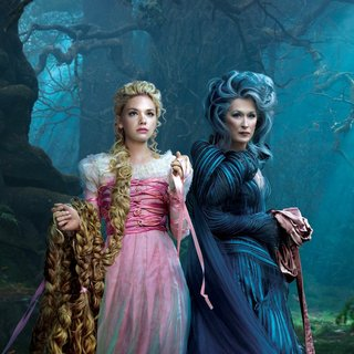 Meryl Streep stars as The Witch and Mackenzie Mauzy stars as Rapunzel and Meryl Streep stars as The Witch in Walt Disney Pictures' Into the Woods (2014) - into-the-woods-still02