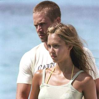 Jessica Alba and Paul Walker in MGM's Into the Blue (2005)