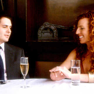 Andrew Leeds stars as Warren and Tanna Frederick stars as Irene in Rainbow Releasing's Irene in Time (2009)