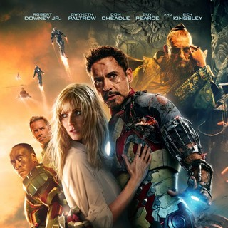 Poster of Walt Disney Pictures' Iron Man 3 (2013) - iron-man-3-pstr01