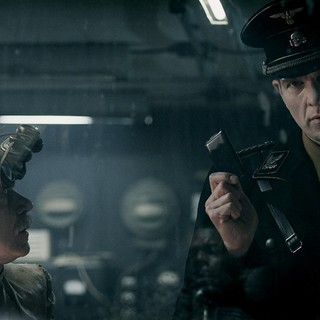 Tilo Pruckner stars as Doktor Richter and Gotz Otto stars as Klaus Adler in Entertainment One's Iron Sky (2012)