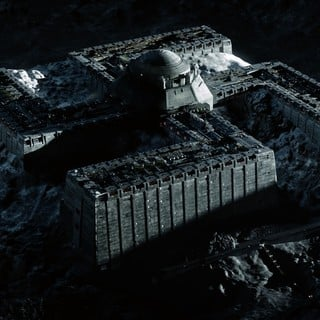A scene from Entertainment One's Iron Sky (2012)