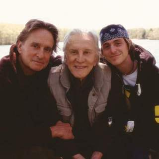 "Kirk Douglas, Michael Douglas and Cameron Douglas in ""It Runs in the Family"" (2003)"