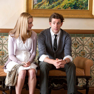 Caitlin Fitzgerald stars as Lauren and John Krasinski stars as Harley in Universal Pictures' It's Complicated (2009)