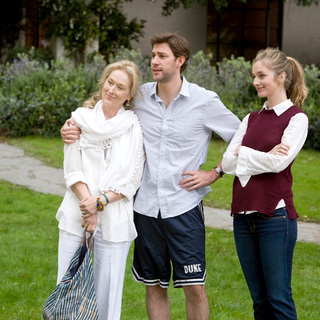 Meryl Streep, John Krasinski and Caitlin Fitzgerald in Universal Pictures' It's Complicated (2009)