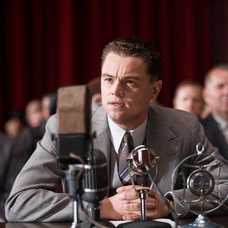 Leonardo DiCaprio stars as J. Edgar Hoover in Warner Bros. Pictures' J. Edgar (2011). Photo credit by Keith Bernstein.