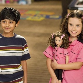 Rohan Chand stars as Gary and Elodie Tougne stars as Sofia in Columbia Pictures' Jack and Jill (2011)