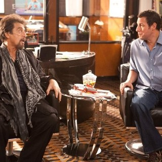 Al Pacino stars as Himself and Adam Sandler stars as Jack Sadelstein in Columbia Pictures' Jack and Jill (2011)