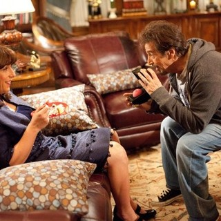 Adam Sandler stars as Jill Sadelstein and Al Pacino stars as Himself in Columbia Pictures' Jack and Jill (2011)