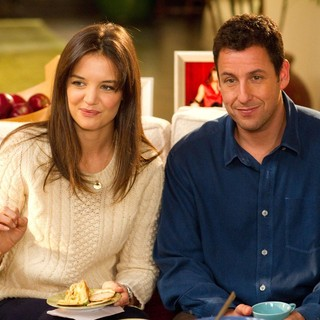 Katie Holmes stars as Erin and Adam Sandler stars as Jack Sadelstein in Columbia Pictures' Jack and Jill (2011)