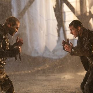 Jai Courtney stars as Charlie and Tom Cruise stars as Jack Reacher in Paramount Pictures' Jack Reacher (2012)