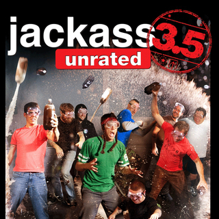 Poster of Paramount Pictures' Jackass 3.5 (2011)
