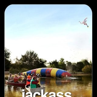 Poster of Paramount Pictures' Jackass 3D (2010)