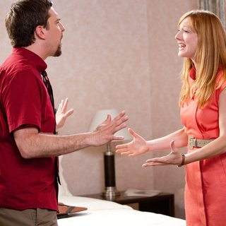 Ed Helms stars as Pat and Judy Greer stars as Linda in Paramount Vantage's Jeff Who Lives at Home (2012)