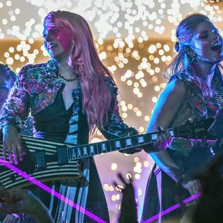 Aubrey Peeples stars as Jem and Stefanie Scott stars as Kimber in Universal Pictures' Jem and the Holograms (2015) - jem-and-the-holograms06