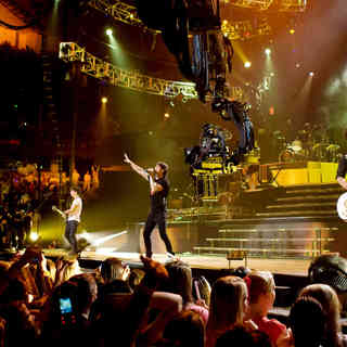 Jonas Brothers: The 3D Concert Experience - Nick Jonas, Joe Jonas and Kevin Jonas in Walt Disney Pictures' Jonas Brothers: The 3D Concert Experience (2009)