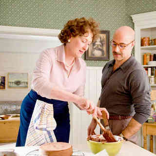 Meryl Streep stars as Julia Child and Stanley Tucci stars as Paul Child in Columbia Pictures' Julie & Julia (2009) - julie_julia36
