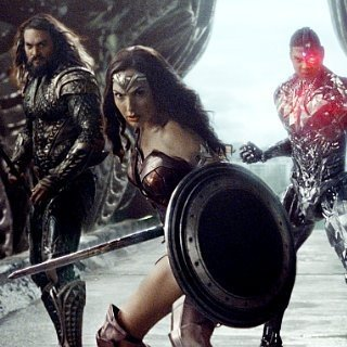 Justice League - Jason Momoa, Gal Gadot and Ray Fisher in Warner Bros. Pictures' Justice League (2017)
