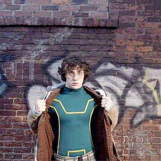 Kick-Ass - Aaron Johnson stars as Dave Lizewski/Kick-Ass in Lionsgate Films' Kick-Ass (2010)