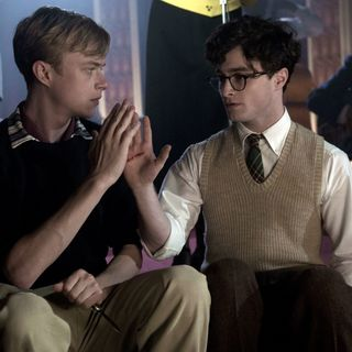Kill Your Darlings - Dane DeHaan stars as Lucien Carr and Daniel Radcliffe stars as Allen Ginsberg in Sony Pictures Classics' Kill Your Darlings (2013)