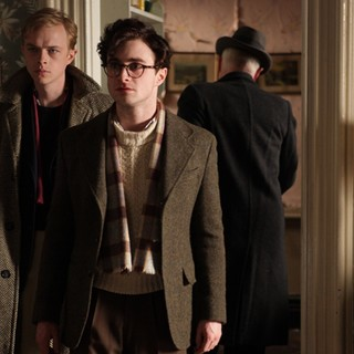 Dane DeHaan stars as Lucien Carr and Daniel Radcliffe stars as Allen Ginsberg in Sony Pictures Classics' Kill Your Darlings (2013)