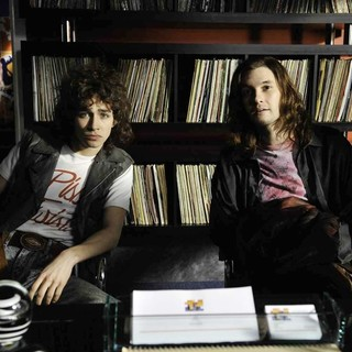 Robert Sheehan stars as Ivan McCormick and Ben Barnes stars as Neil McCormick in ARC Entertainment's Killing Bono (2011)