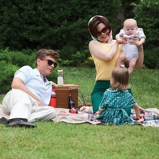 Rob Lowe stars as John F. Kennedy and Ginnifer Goodwin stars as Jacqueline Kennedy in National Geographic's Killing Kennedy (2013). Photo credit by Kent Eanes. - killing-kennedy04