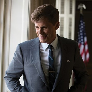 Rob Lowe stars as John F. Kennedy in National Geographic's Killing Kennedy (2013). Photo credit by Kent Eanes. - killing-kennedy05