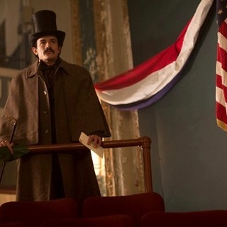 Jesse Johnson stars as John Wilkes Booth in National Geographic's Killing Lincoln (2013)