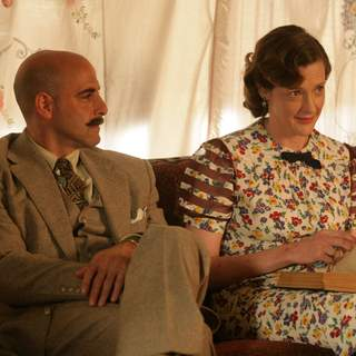 Stanley Tucci and Joan Cusack in a scene from Kit Kittredge: An American Girl 2008 From HBO Films/A Picturehouse release.