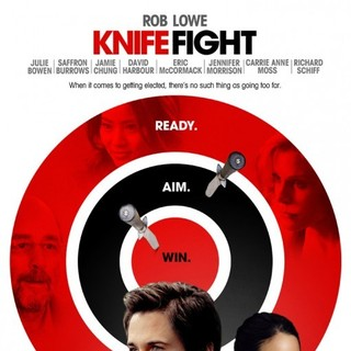 Poster of IFC Films' Knife Fight (2012)