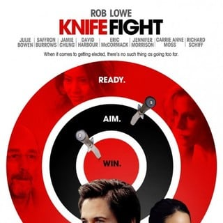 Poster of IFC Films' Knife Fight (2012) - knife-fight-poster01