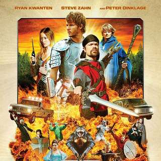 Poster of Entertainment One's Knights of Badassdom (2014) - knights-of-badassdom-poster01