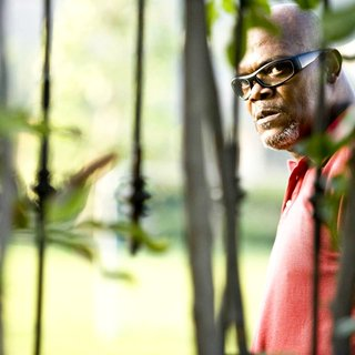 Samuel L. Jackson stars as Abel Turner in Screen Gems' Lakeview Terrace (2008). Photo credit by Chuck Jackson.