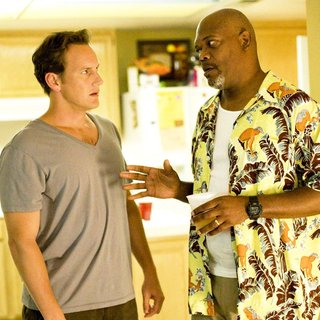Patrick Wilson stars as Chris Mattson and Samuel L. Jackson stars as Abel Turner in Screen Gems' Lakeview Terrace (2008). Photo credit by Chuck Zlotnick.