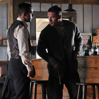 Lawless (2012) - Shia LaBeouf stars as Jack Bondurant and Tom Hardy stars as Forrest Bondurant in The Weinstein Company's Lawless (2012). Photo credit by Richard Foreman.