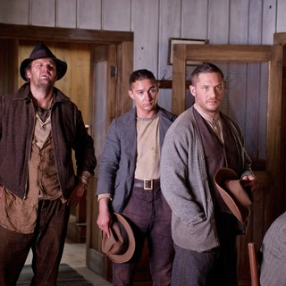 Lawless (2012) - Jason Clarke, Shia LaBeouf and Tom Hardy in The Weinstein Company's Lawless (2012)